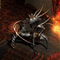 Технифицированая версия баала из diablo, в главной роли - вин